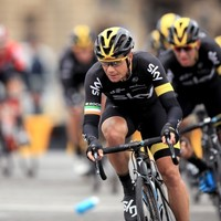Ireland's Nicolas Roche had to recover from a bad crash at the Vuelta today