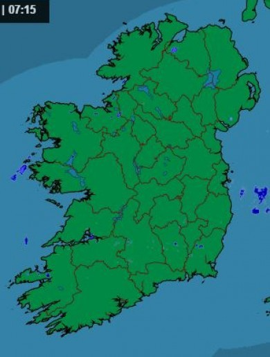 Tuesday Weather Map.Weather Forecast Thejournal Ie
