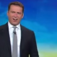 'I am NEVER going back in the water': News anchor left speechless during shark report