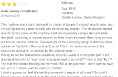 Someone has finally snapped and told the truth about washing machines