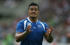 Samoan centre compares Rugby World Cup schedule to the holocaust