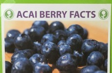 This 'fact sheet' about acai berries is hilarious and painfully accurate