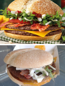 The new Irish McDonald's burger looks a little different in person - here's our verdict