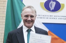 'One of the best': Joe Schmidt becomes an Irish citizen