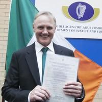 'One of the best': Joe Schmidt becomes an Irish citizen