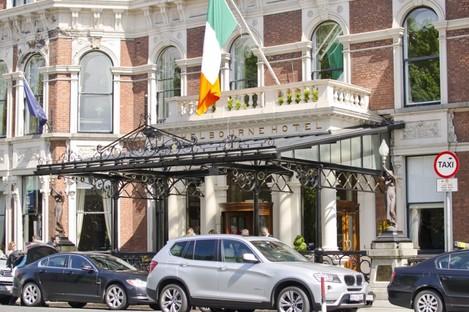 The Shelbourne Hotel in Dublin.