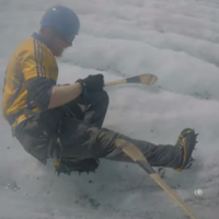 Ever wondered what would happen if you combined hurling with mountaineering?