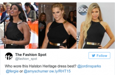 Amy Schumer had the perfect response to this 'Who wore it better?' tweet