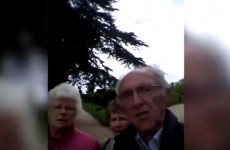 These older people tried to take a photo on an iPhone... but accidentally hit record