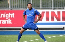 Isa Nacewa returns as Leinster name team to face Edinburgh