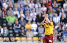 Irish Eye: Treacy on target, but Burnley fall short