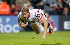 Andrew Trimble handed Ulster start after missing out on RWC squad