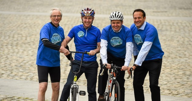 The streets of Dublin are being taken over by cyclists next Sunday for an inaugural bike ride