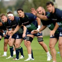 Connacht players fighting for points in Lam's defensive scoring system