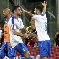 Antonio Candreva's dive against lowly Malta last night was pretty shameful