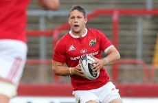 Three debutants to start as Munster name youthful side for season opener