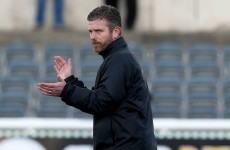 Former Ireland international makes a winning start to his managerial career