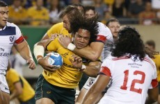 Michael Cheika's half-time blast pushes struggling Wallabies to warm-up win over USA