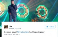 People were outraged that RTÉ cut short Blur's performance at Electric Picnic