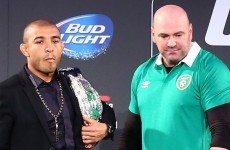 Dana White disagrees with Aldo's rank as the UFC's pound-for-pound best