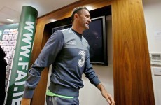 Robbie Keane won't complain if he doesn't start against Georgia tomorrow