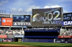 WATCH: Rivera makes history with 602nd career save