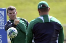 D'Arcy and O'Connell doubtful for Russia game