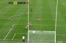 This TJ Reid goal is keeping Kilkenny in it against Galway