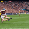Should Galway's Johnny Coen have been sent off for this high tackle?