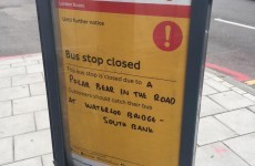 A bizarre bus stop disruption has been going viral... but it's actually accurate