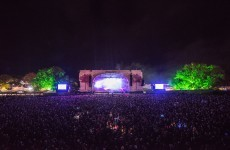 Here's what the Electric Picnic main stage looked like after everyone went home