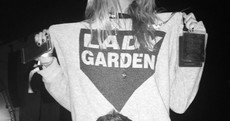 Laura Whitmore wore a jumper pointing to her 'lady garden' at EP... It's The Dredge