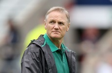 Joe Schmidt's Ireland drop to sixth in the world after England defeat