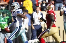 One tackle in Sunday's Cowboys-49ers game cost gamblers $72million