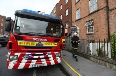 Six apartments burn in overnight blaze