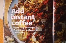 Everyone's talking about adding coffee to their pasta sauce