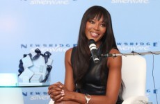 Naomi Campbell is the new face of Newbridge Silverware