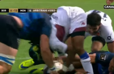 This vicious clear-out in the Top 14 rightly resulted in a yellow card