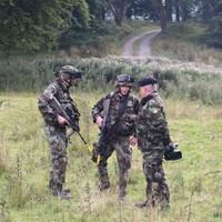 Watch an Irish army unit get ambushed by their enemies (in a drill)