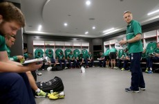 Schmidt not ignoring 'incredible banana skin' in Ireland's RWC opener