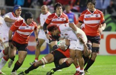 As it happened: Japan v Tonga