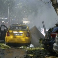 Explosion in Turkish capital kills 3, wounds 34