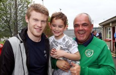 James McClean is never one to forget his roots and this kind gesture proves it