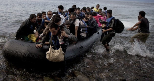 The many different routes that migrants are taking to reach western Europe...