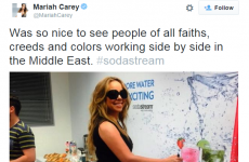 Here's the story behind that bizarre Mariah Carey SodaStream tweet
