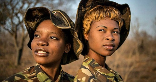 The all-female poaching unit that's turning the tables and hunting the hunters