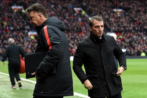 Both Louis van Gaal and Brendan Rodgers could do with wins.