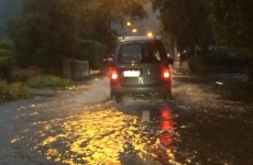 Heavy rain causes flooding across the country