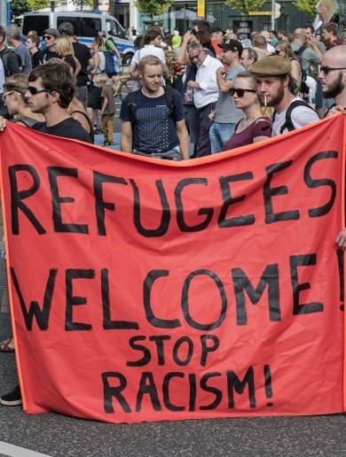 Punk song about a 'Nazi a**hole' tops German charts amid support for refugees
