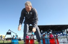 In pictures: A day in the life of Ireland kitman Paddy 'Rala' O'Reilly